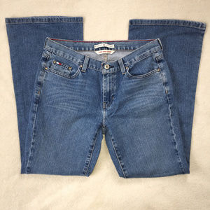 Tommy Hilfiger Size 8 Jeans Low Rise Flare